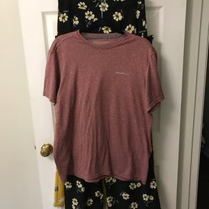 Eddie Bauer work out/hiking top size large tall.